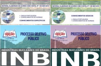 Apostilas Diversos Cargos do Processo Seletivo da INB – 2018