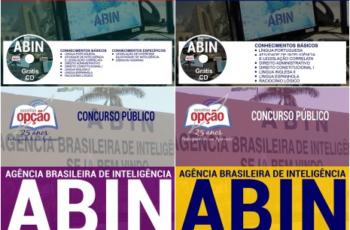 Apostilas Oficial de Inteligência, Oficial Técnico de Inteligência e Agente de Inteligência do Concurso Público da ABIN – 2018