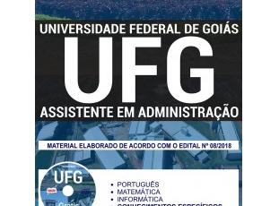 Apostila Estudar Concurso Público UFG – 2018, Assistente em Administração
