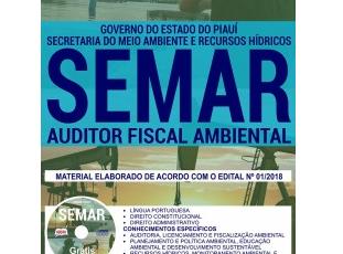 Apostila Auditor Fiscal Ambiental do Concurso Público da SEMAR / PI – 2018