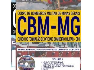 Apostila Concurso Público CBM / MG – 2018, Curso Formação de Oficiais
