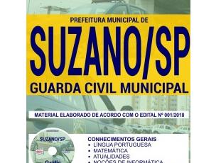 Apostila Guarda Civil Municipal do Concurso Público da Prefeitura de Suzano / SP – 2018